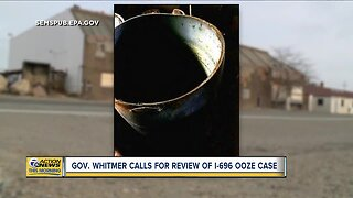 Gov. Whitmer calls for review of I-696 ooze case