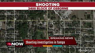 Tampa Police investigate shooting on Osborne - Video