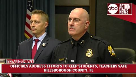 Hillsborough Co. officials address efforts to keep students, teachers safe