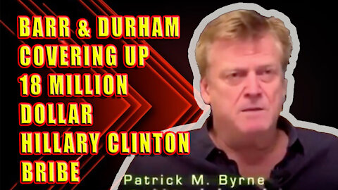 Overstock CEO Patrick Byrne Describes Sting Operation To Bribe Hillary Clinton With $18 Mil