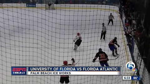 FAU Hockey takes on UF