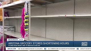Arizona grocery stores shortening hours