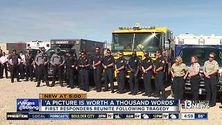 First responders gather for photo shoot - Video