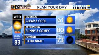 Calmer Days Ahead for Baltimore - Video