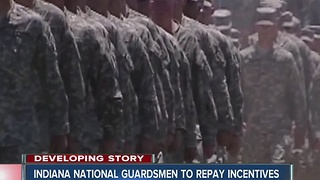 Indiana National Guard recruits ordered to repay incentives - Video