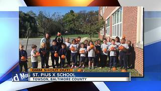 Good morning from St. Pius X School - Video