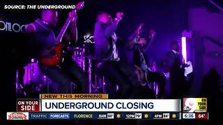 Forest Park's The Underground closes its doors - Video