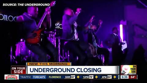 Forest Park's The Underground closes its doors