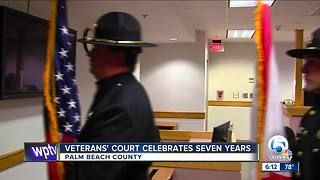 Palm Beach County Veterans Court celebrates seven-year anniversary - Video