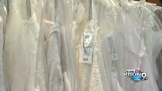 Alfred Angelo temporarily reopens and all wedding dresses are $299