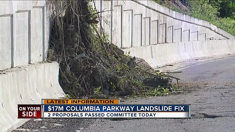 Possible Columbia Parkway landslide fix
