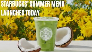 Starbucks' Summer Menu Launches Today & There's 3 New Drinks