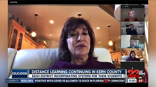 Learning at a distance in Kern County