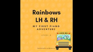 Piano Adventures Lesson Book A - Rainbows L.H. & R.H.