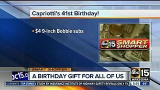 Celebrate Capriotti's birthday with this great deal - Video
