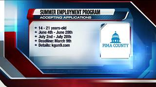 Apply to Pima County's Summer Youth Program - Video