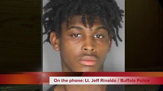 Buffalo police on teen father arrested - Video