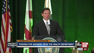 State of Florida slow to release info on hepatitis A