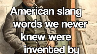 American slang words we never knew were invented by the Irish