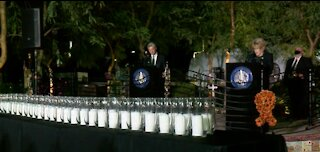 1 October shooting victims remembered during ceremony at Healing Garden