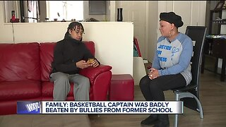 Family: Basketball captain was badly beaten by bullies from former school