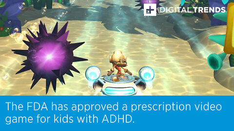 The FDA has approved a prescription video game for kids with ADHD.
