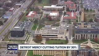 Detroit Mercy cutting tuition by 30% - Video