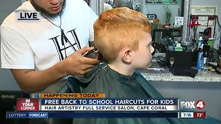 Back to school hair cuts - Video