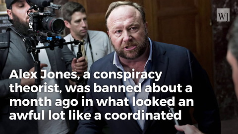 Just In: Twitter Permanently Bans Alex Jones