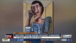 Second Steve Wynn Picasso damaged