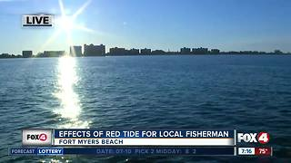 Effects of algal blooms on local fisherman - 7am live report - Video