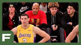 Lonzo Ball Gets ABSOLUTELY OWNED By Lamelo Ball! - Video