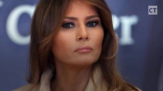 Report: Melania Foils Media... 'Believes Her Husband' On Stormy Accusations - Video