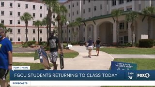 FGCU students to resume on campus learning Monday