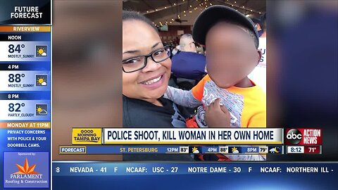 A woman was shot and killed by a Fort Worth police officer in her own home