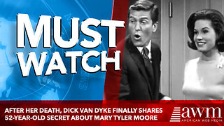 After Her Death, Dick Van Dyke Finally Shares 52-Year-Old Secret About Mary Tyler Moore - Video