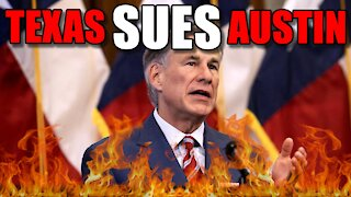Hot Take - Texas SUES Austin over refusal to end mask mandate!