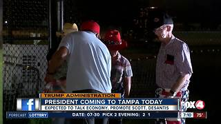Preview of President Trump's visit to Tampa on Tuesday