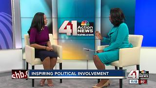 Interview with Angela Rye, political strategist, on millennial voting - Video