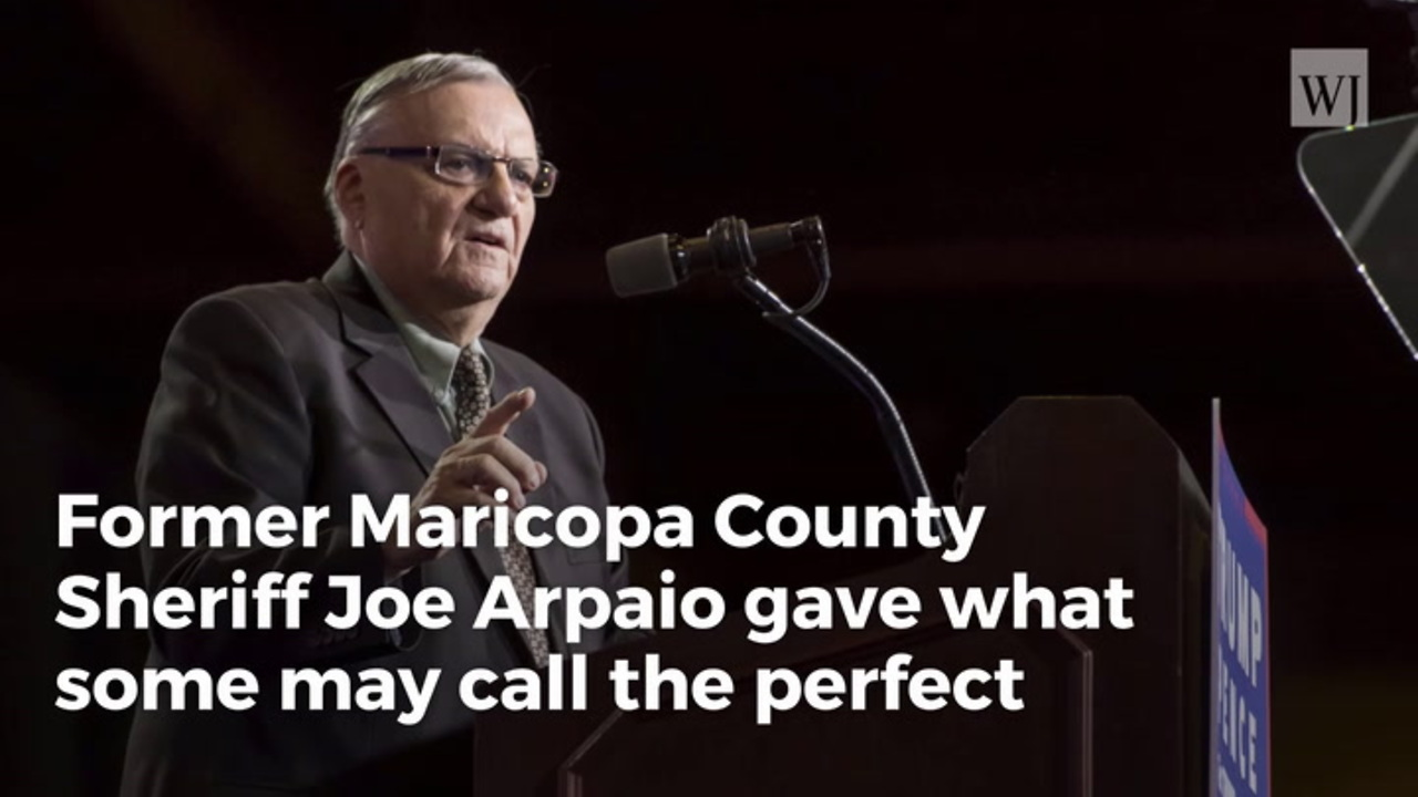 Image result for Sheriff Joe's Comment On John McCain Will Have Every Trump Fan Cheering