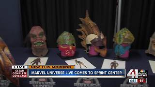 How costumes for Marvel Universe Live! are designed