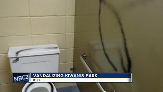 KIWANIS PARK VANDALIZE - Video