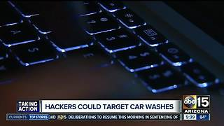Report: Hackers can now target automatic car washes - Video