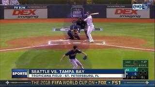 Mike Leake pitches into 9th inning as Seattle Mariners beat Tampa Bay Rays 5-4 - Video