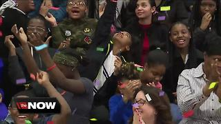 Maple Heights middle school wins national 'kindness challenge' award, beats out 654 schools - Video