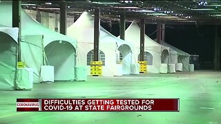 Detroit begins drive-thru testing for COVID-19 today at State Fairgrounds