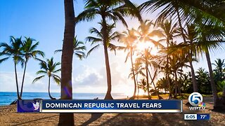 Travel fears mount in the Dominican Republic