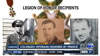 Colorado veterans honored by France - Video