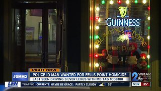 Warrant issued for suspect in Fells Point bar murder