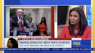 Omarosa Sets The Record Straight Why She Resigned From WH Role - Video